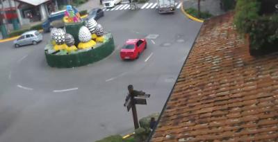 Câmeras ao vivo de Gramado decoração de páscoa