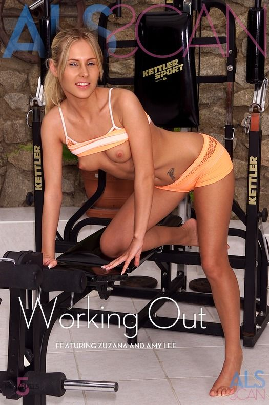 ALSScan - Faith, Amy Lee, Zuzana - Working Out - Remastered