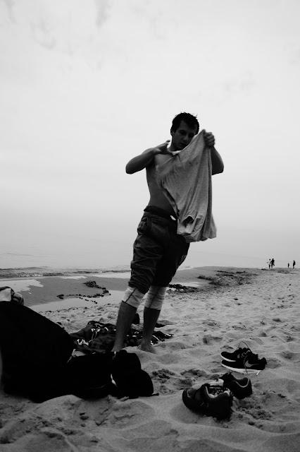 paweł nurek freediving plaża władysławowo