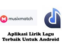Aplikasi Lirik Lagu Terbaik Untuk Android