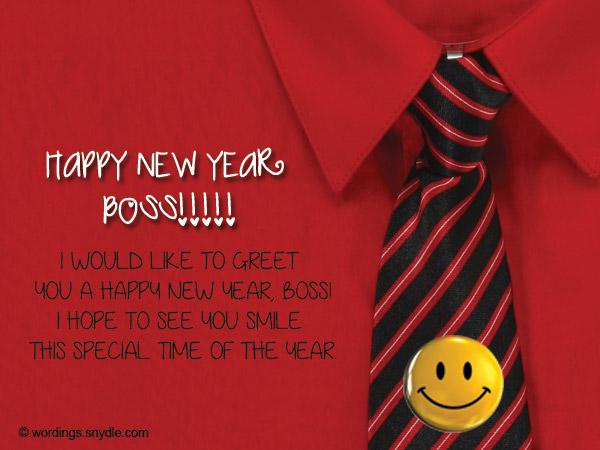 Happy New Year 2017 Message For Boss & Colleague