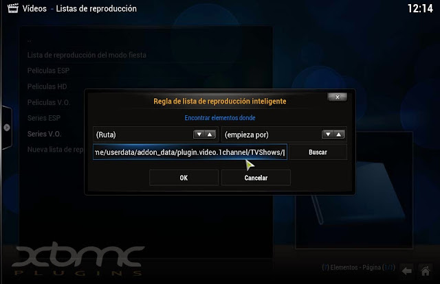 XBMC Playlists