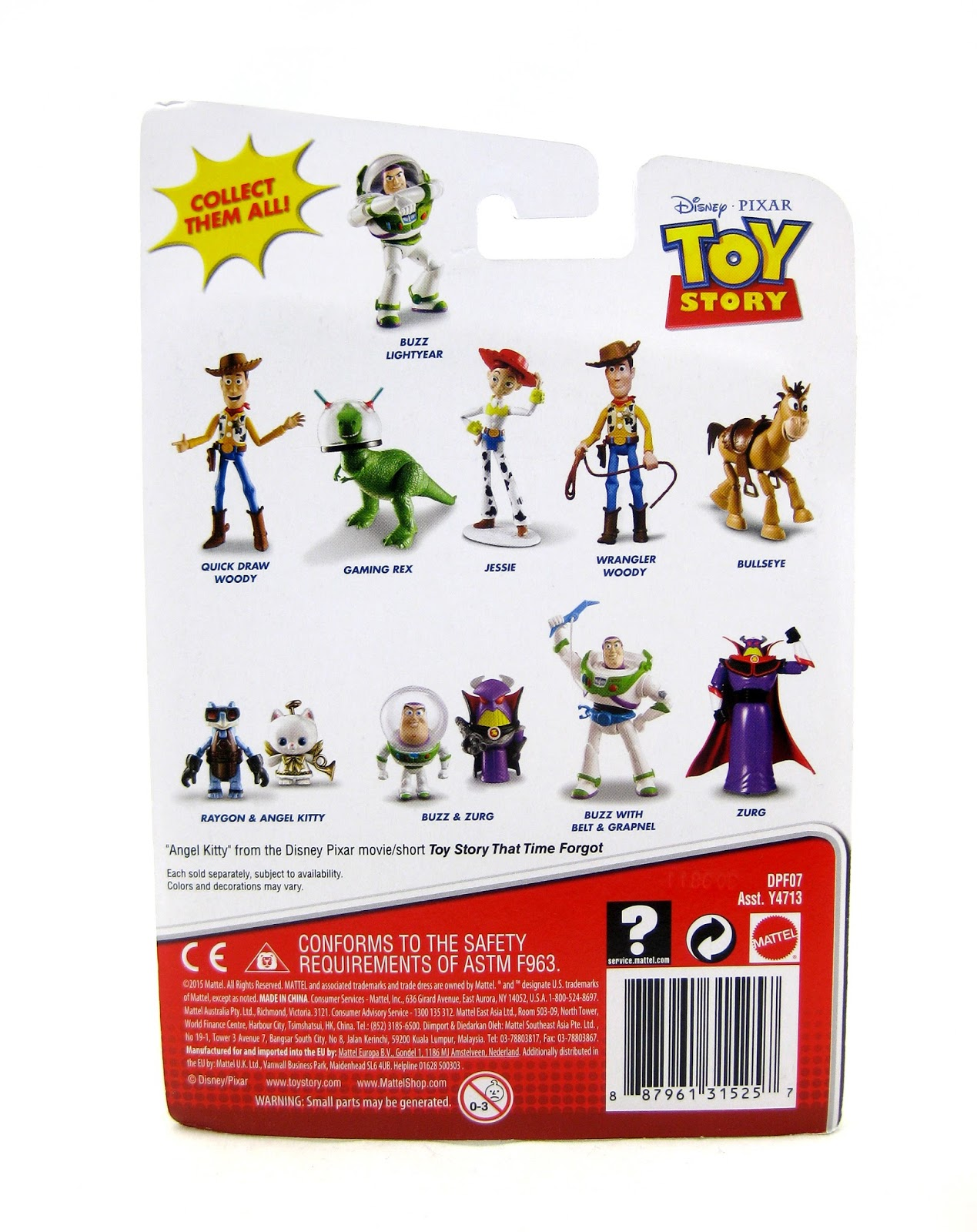 Dan the Pixar Fan  Toy Story 2  Gaming Rex and Buzz with Belt ... 13985906a09