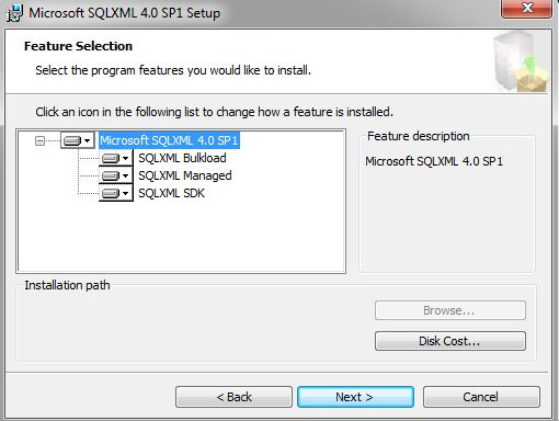 Sqlxml 4. 0 not supported on windows 2012 r2 vox.