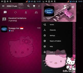Download Kumpulan BBM MOD Karakter Tokoh Kartun Terlengkap hellokittyy