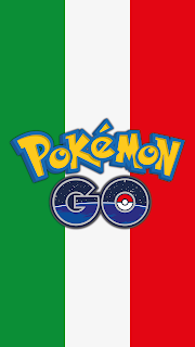Wallpaper Pokemon GO flag Italy for Android phone and iPhone Free