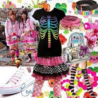 Harajuku Alternative Mode Let S Start Decora Girl