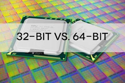 Inilah Perbedaan Antara Windows 32 bit dan 64 bit