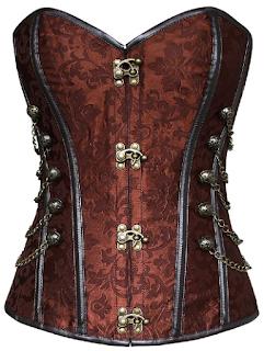 steampunk star wars princess leia cosplay corset bodice bustier waist cincher