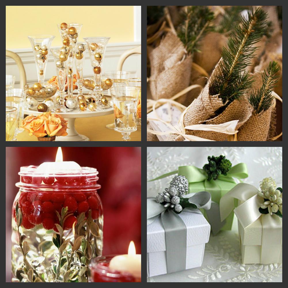 Weddings Are Fun Blog: Budget Friendly Holiday Reception