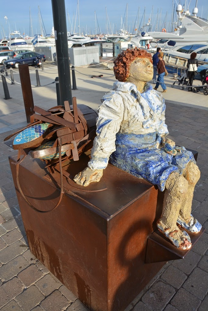 Port of Cambrils art