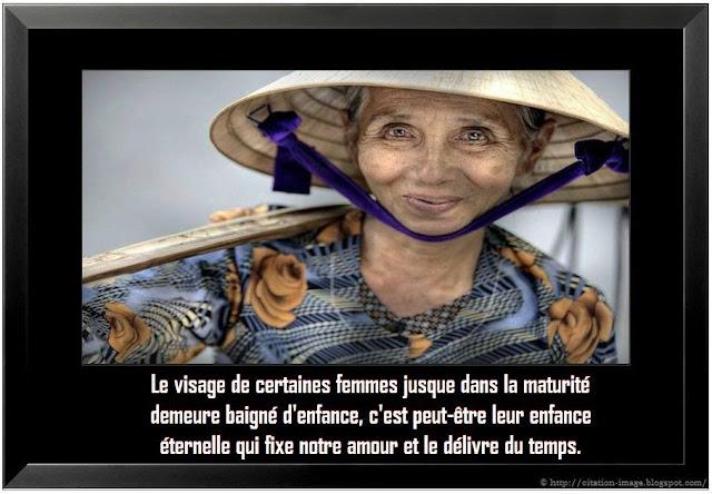 Citation image de femme