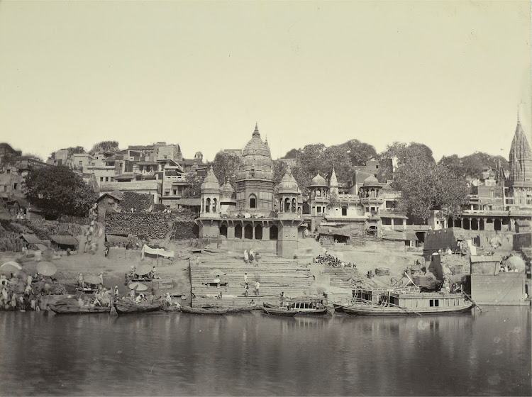Burning Ghat - Benares (Varanasi) 1905