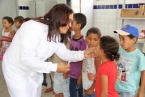 Prefeitura de Delmiro inicia  nesta segunda - feira campanha contra verminose