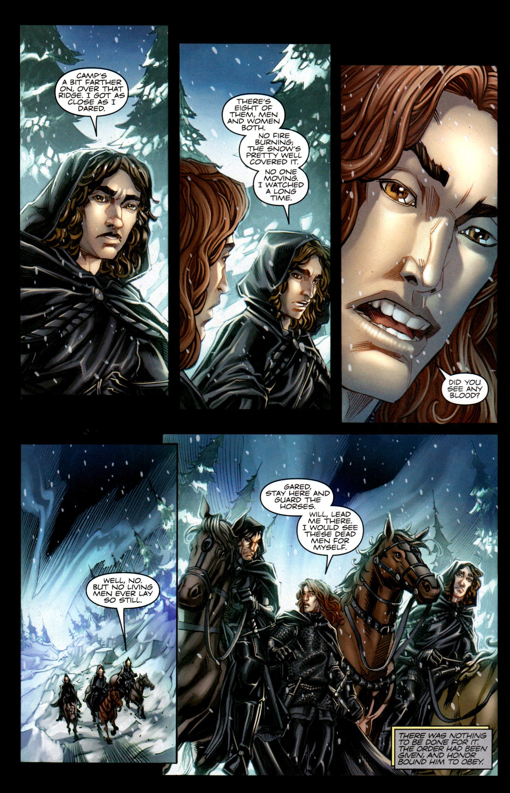Read online A Game Of Thrones comic -  Issue #1 - 4