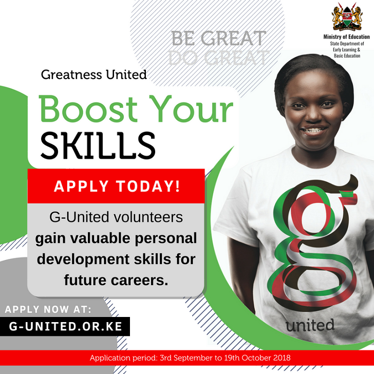G-United 2019 APPLY NOW!