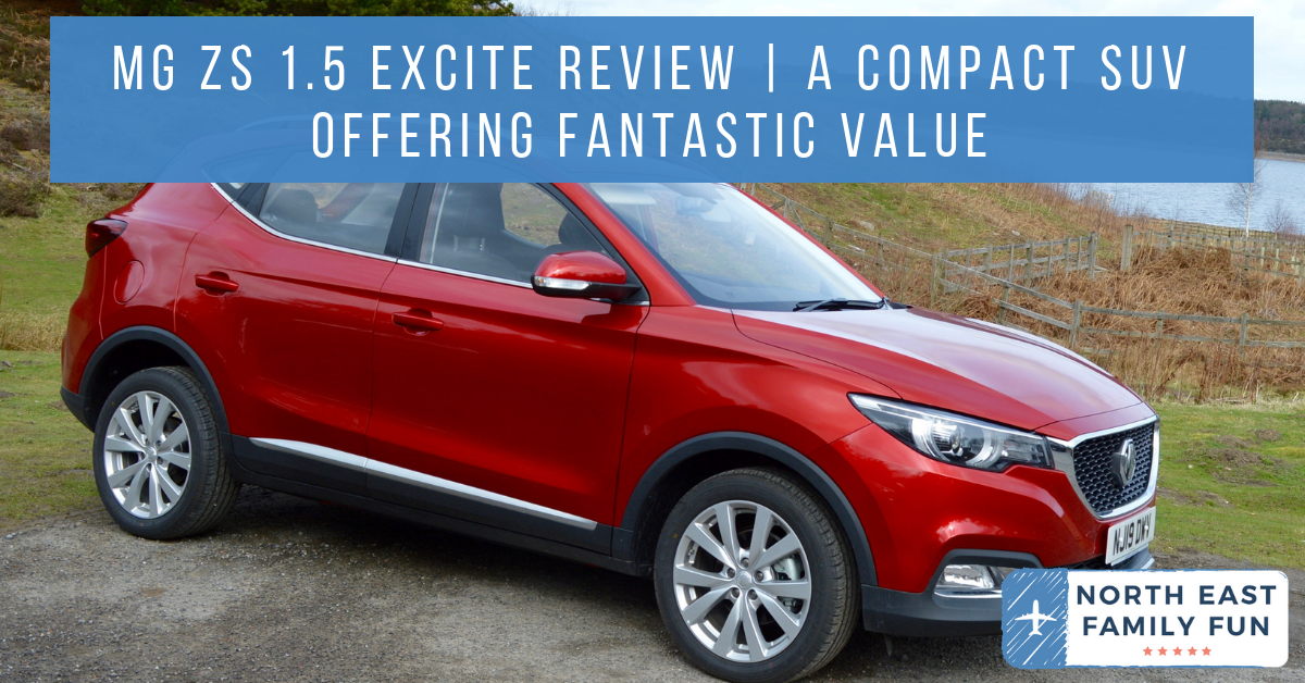 MG ZS 1.5 Excite Review | A New Compact SUV for less than £13,000