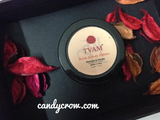 TVAM Almond Body Polish Review