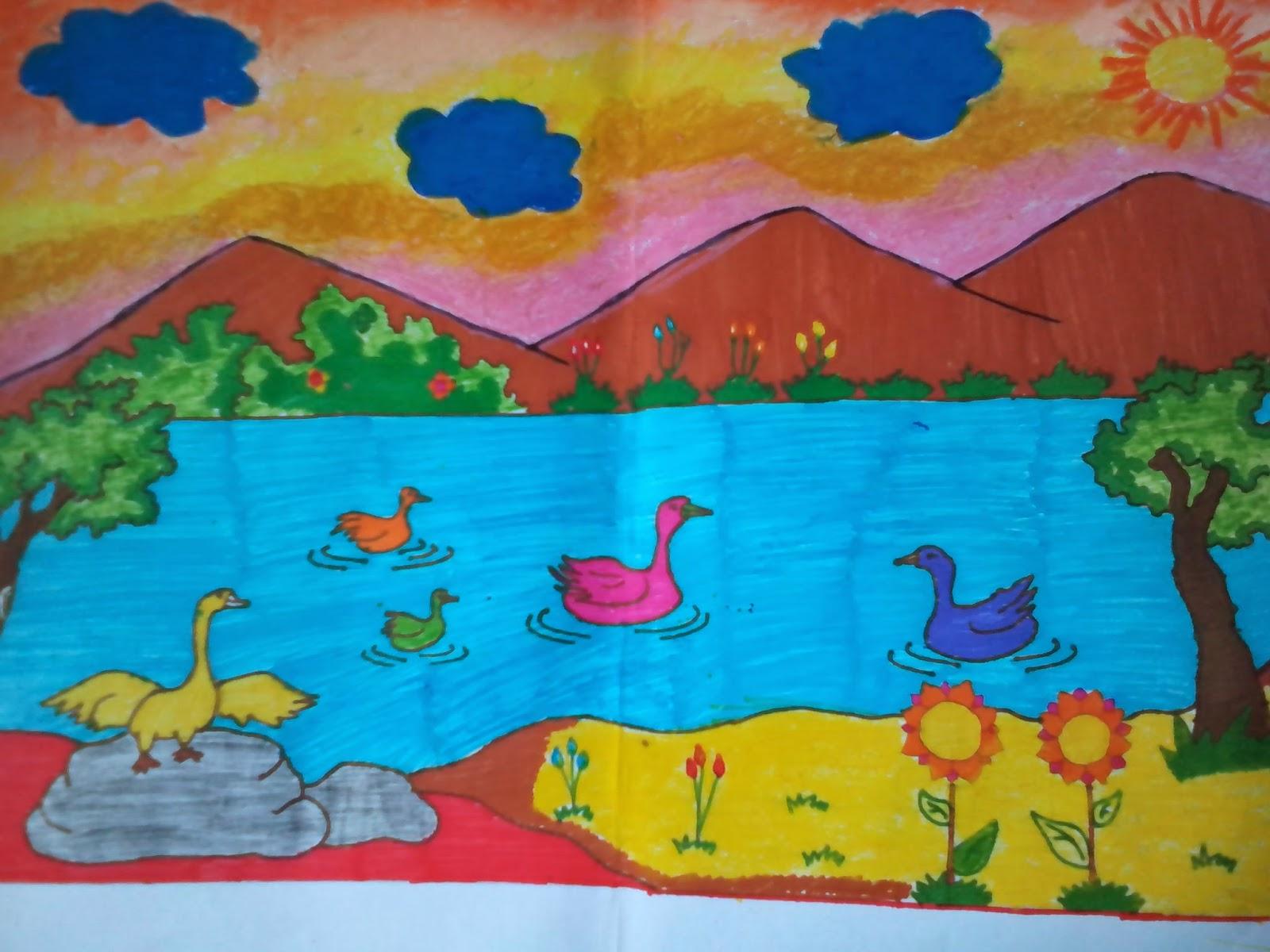 Online Buy Grosir Perahu Wallpaper China Gambar Pemandangan Alam Sederhana