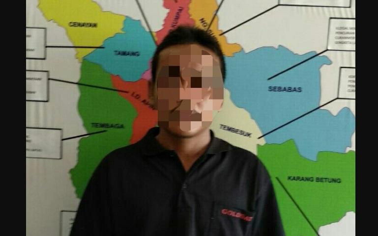 4 Bulan Buronan, AT Akhirnya Diringkus Polsek Nanga Mahap di Ketapang