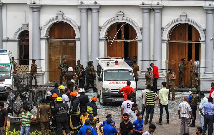 7 Suspects arrested after Coordinated Attacks on Churches, Hotels in Sri Lanka on Easter Sunday