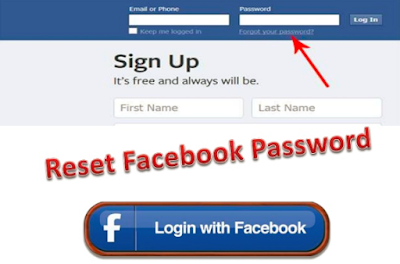 Reset My Password In Facebook 2019
