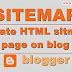 Blog के लिए Sitemap Page कैसे बनाये जानिए इसकी पूरी जानकारी हिंदी में