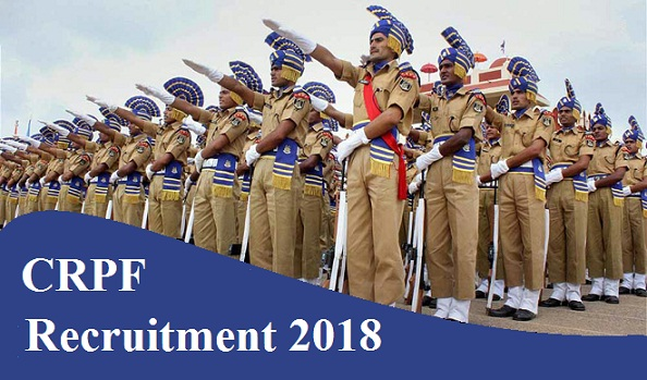 crpf recruitment notification 2018 for constable post