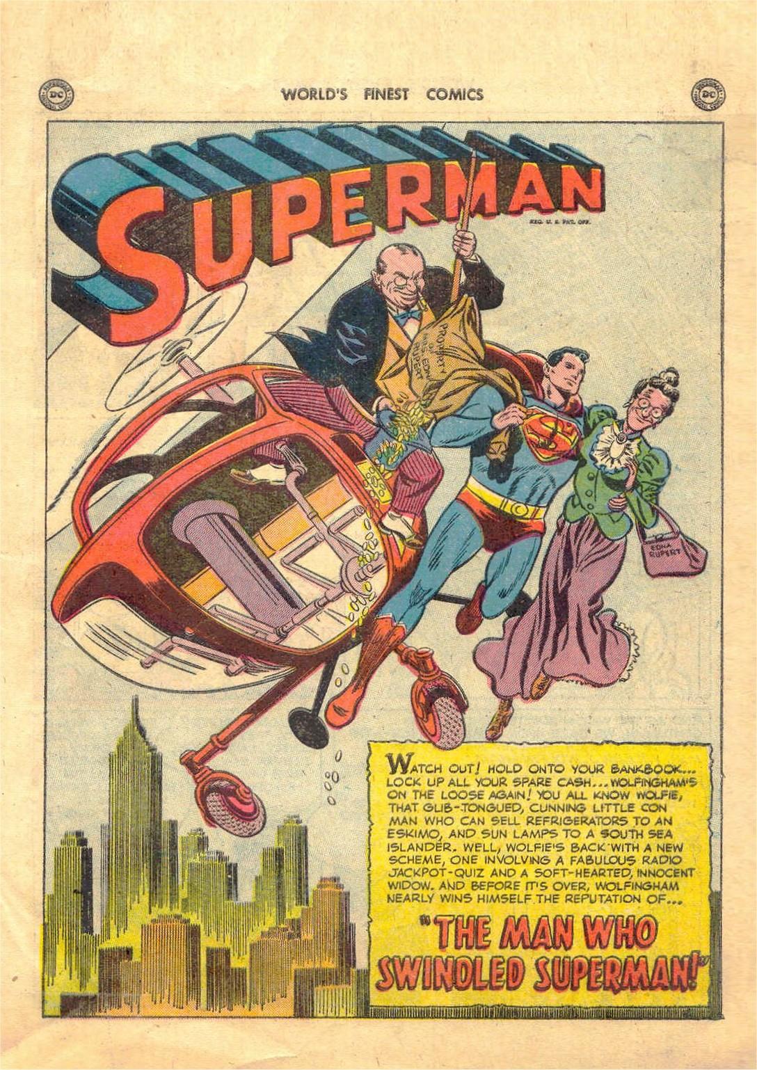 Read online World's Finest Comics comic -  Issue #52 - 3