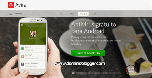 Avira Antivirus Security gratis para Android