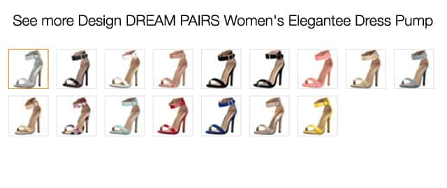 DREAM PAIRS Women's Elegantee Dress Pump