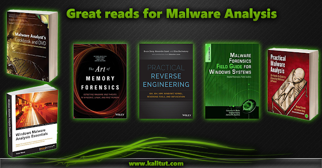 Malware Analysis Books