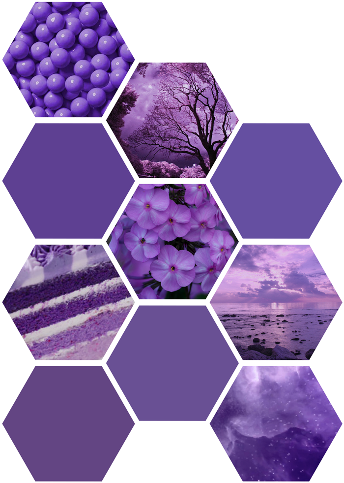 Pantone color of the year 2018, purple, violet, flowers, candy, landscape photography, ombre cake