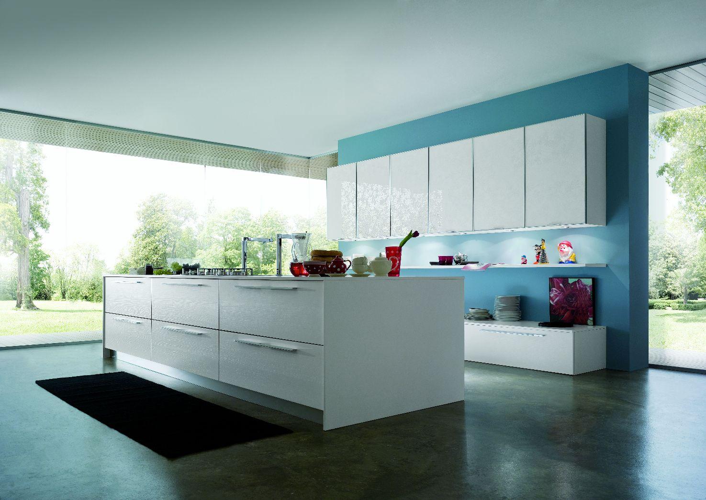 cuisine design blanche et pur e. Black Bedroom Furniture Sets. Home Design Ideas