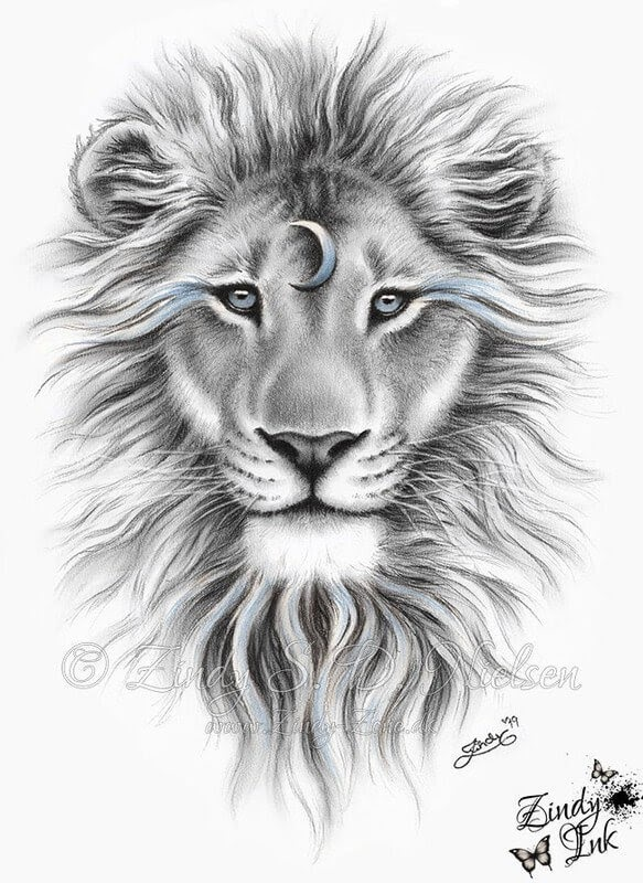 11-Moon-Spirit-Lion-Zindy-Nielsen-Fantasy-Animals-Meet-Realistic-Ones-www-designstack-co