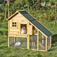 Ideas para construir jaulas de pollos en casa