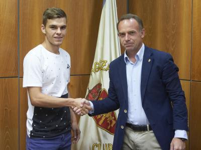Aleix Febas, nuevo jugador del Real Zaragoza