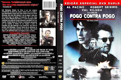 Filme Fogo Contra Fogo (Heat) DVD Capa