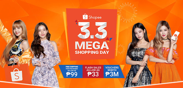 Shopee 3.3 Mega Shopping Day