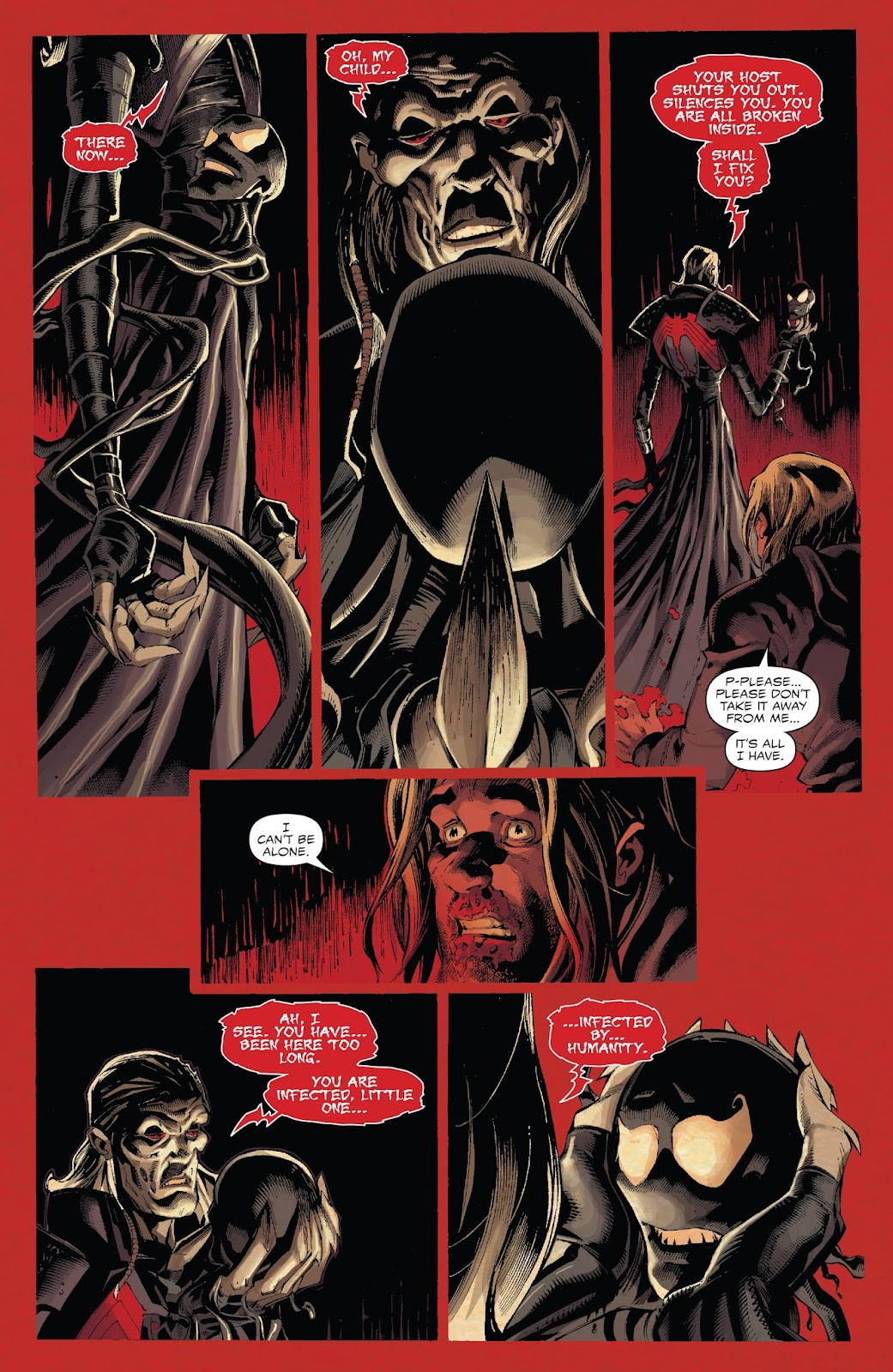 Venom #3] It really seems like Cates is shitting on the lore