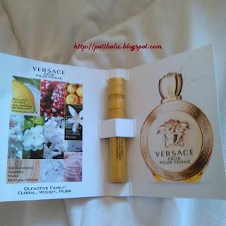 eros versace, perfume para mujeres