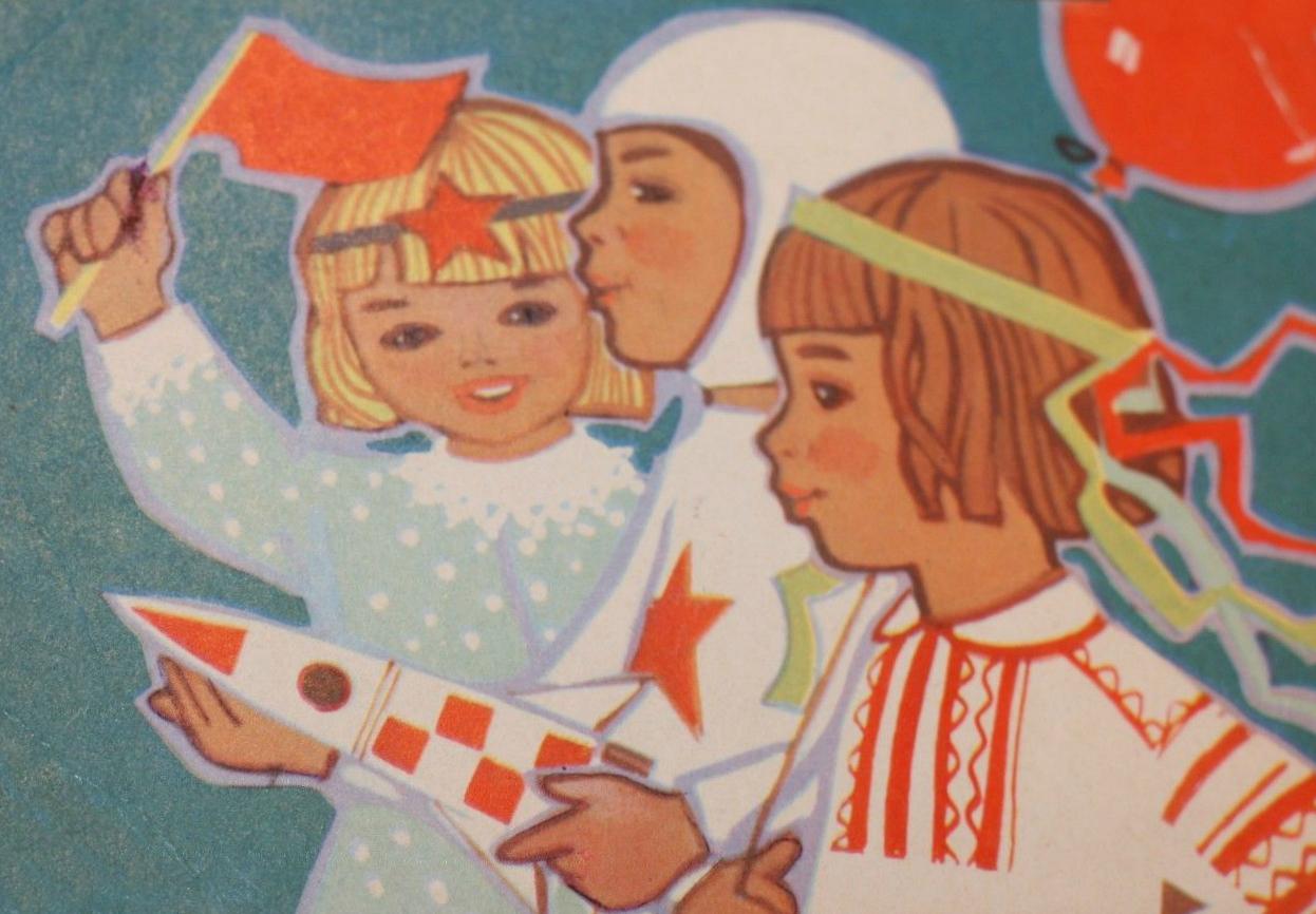 Кому нужны советские открытки