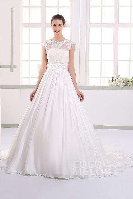krotka sukienka na slub