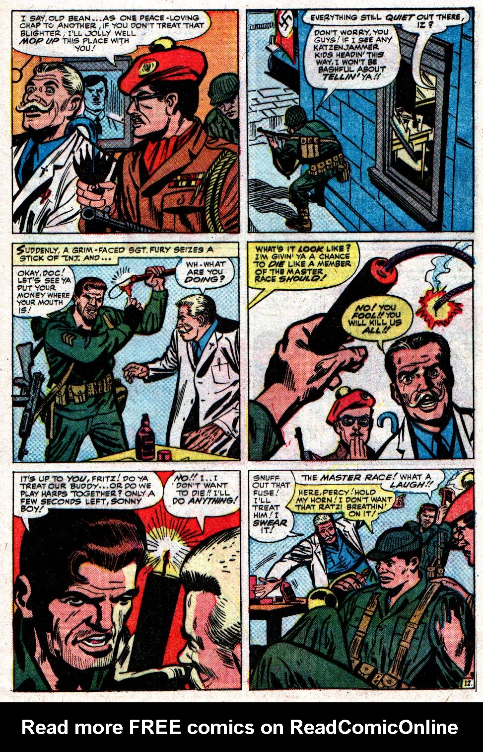 Read online Sgt. Fury comic -  Issue #8 - 17