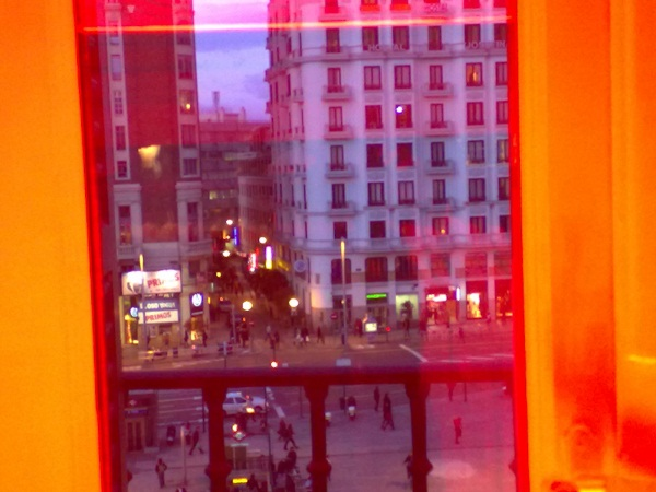 La Plaza de Callao vista desde el edificio de Desigual