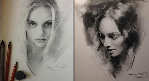 00-Casey-Baugh-Portrait-Drawings-of-Charcoal-Studies-www-designstack-co