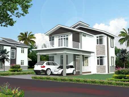gambar desain rumah minimalis 2 lantai terbaru | foto