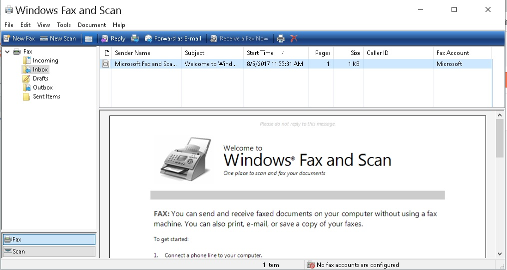 scan windows