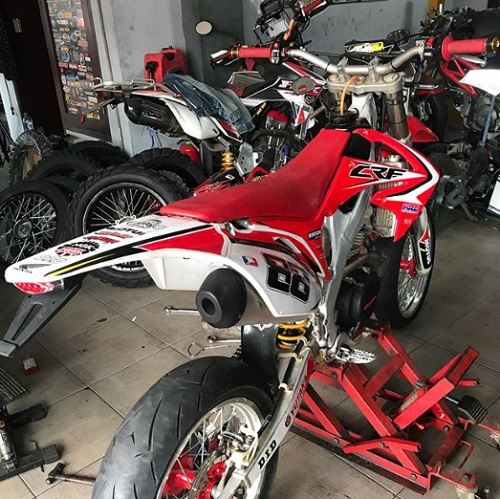 Design Honda CRF 250 R