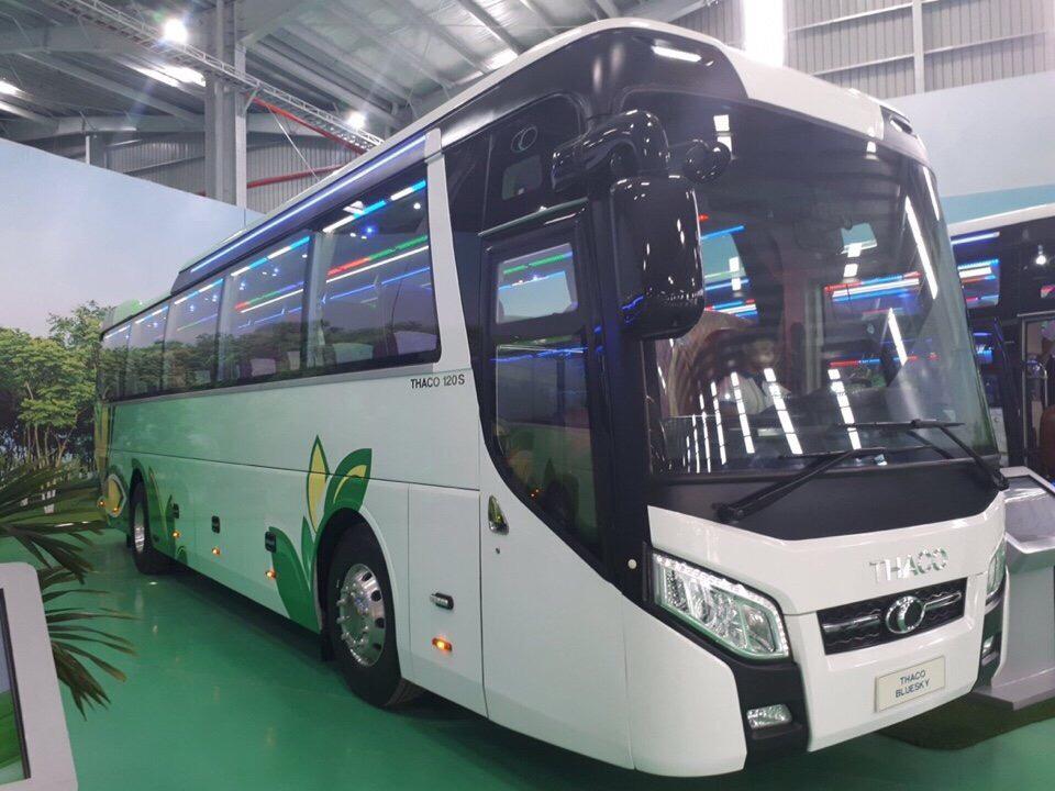Xe khách Thaco TB120S BlueSky 47 chỗ ngồi tại Hải Phòng